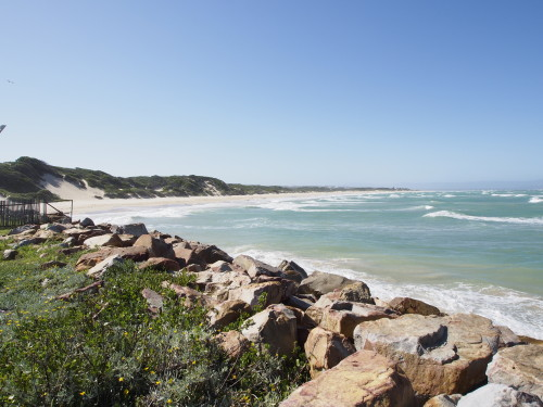Beach in Jeffreys Bay