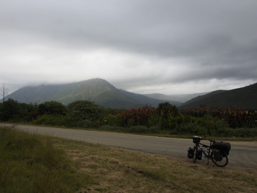 Tsitsikamma Mountains in the mist