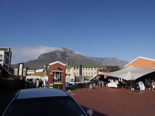 Table Mountain from Old Biscuit Mill