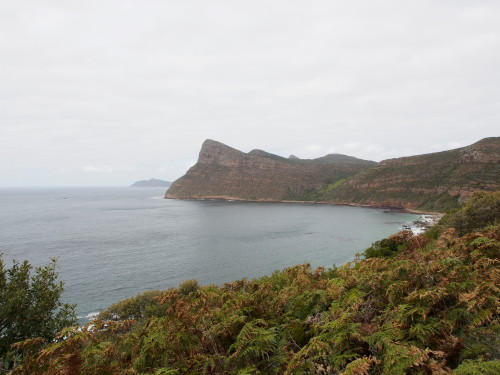 Looking towards Cape Point after Simons Town