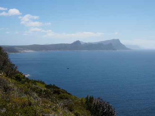 Looking back towards Cape Town