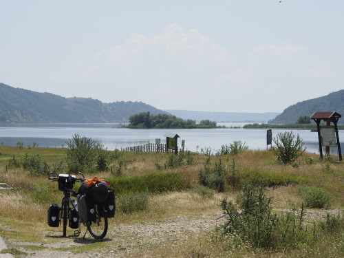 danube and my bike