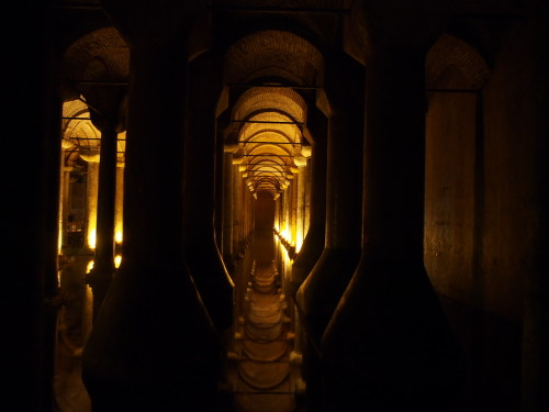 basilica cistern reflections