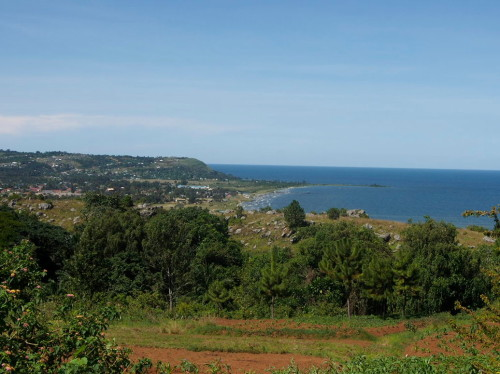 Bukoba seen from the hill
