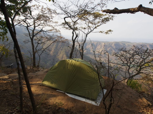 my tent at he cliff